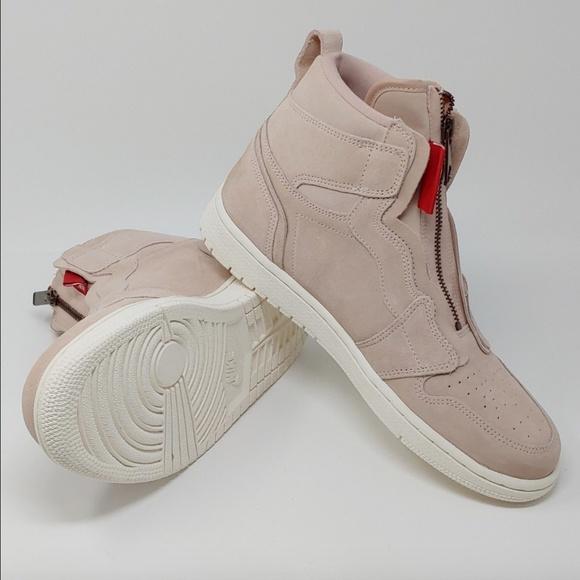 Nike Shoes Air Jordan 1 Aj1 High Retro Zipper Particle Poshmark
